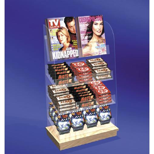 Freestanding & Good Ideas - Counter front Confectionary & Magazines