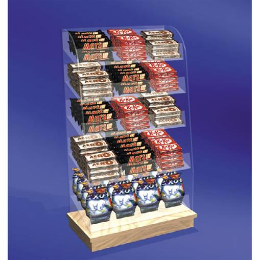 Freestanding & Good Ideas - Counter Front Confectionary Unit