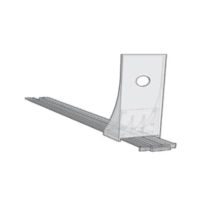 Shelf Management - Spring Pusher 200mm High Back Extension