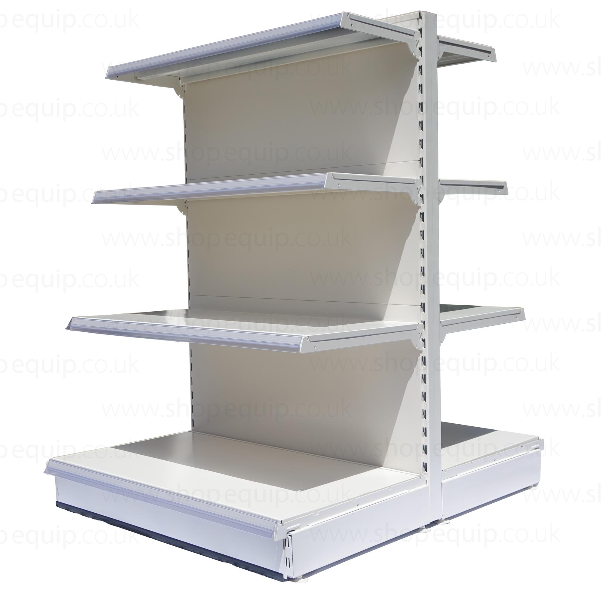 Eden Shelved Gondola Bay 1410mm High x 1000mm Wide