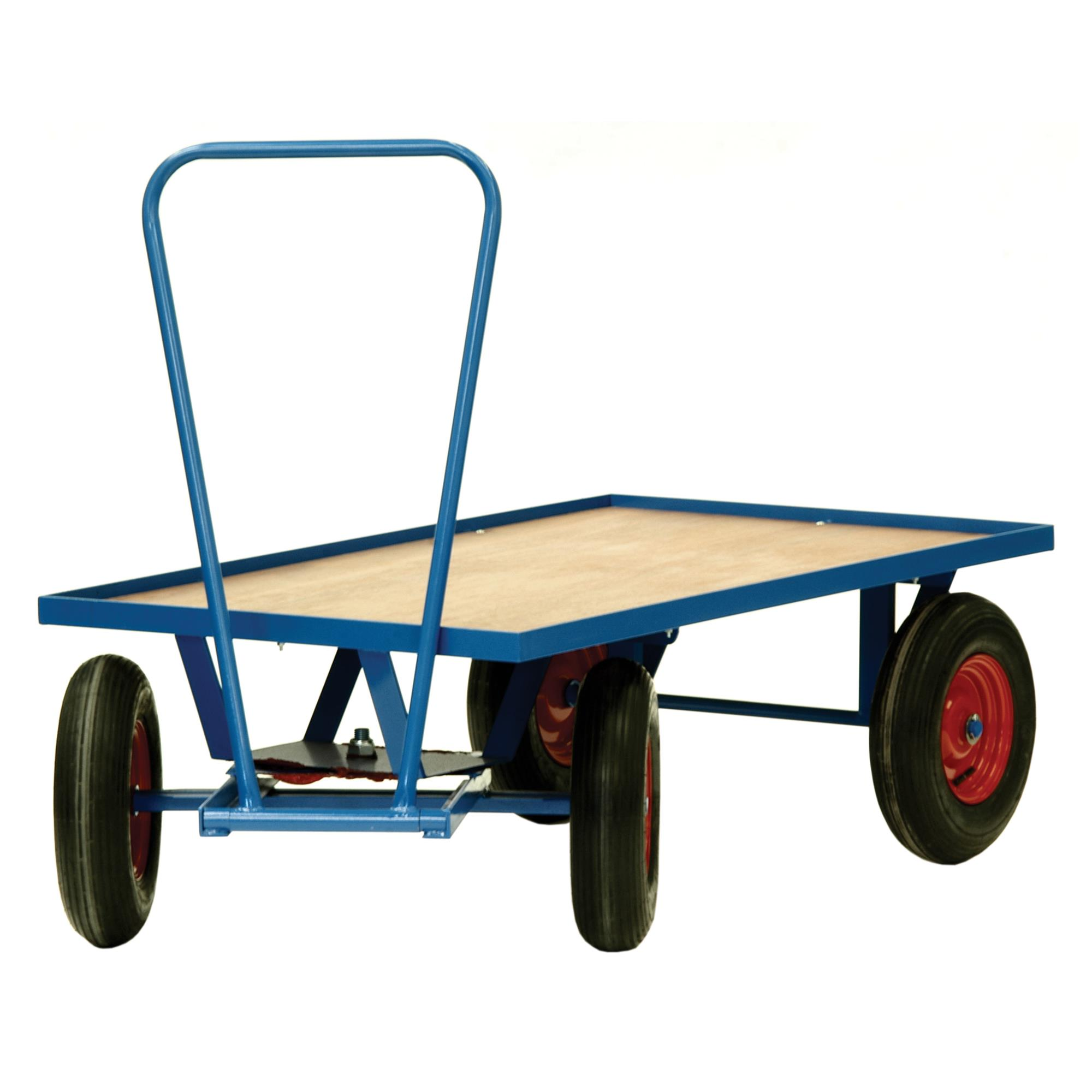 Large Wheel Warehouse & Distribution Trolley