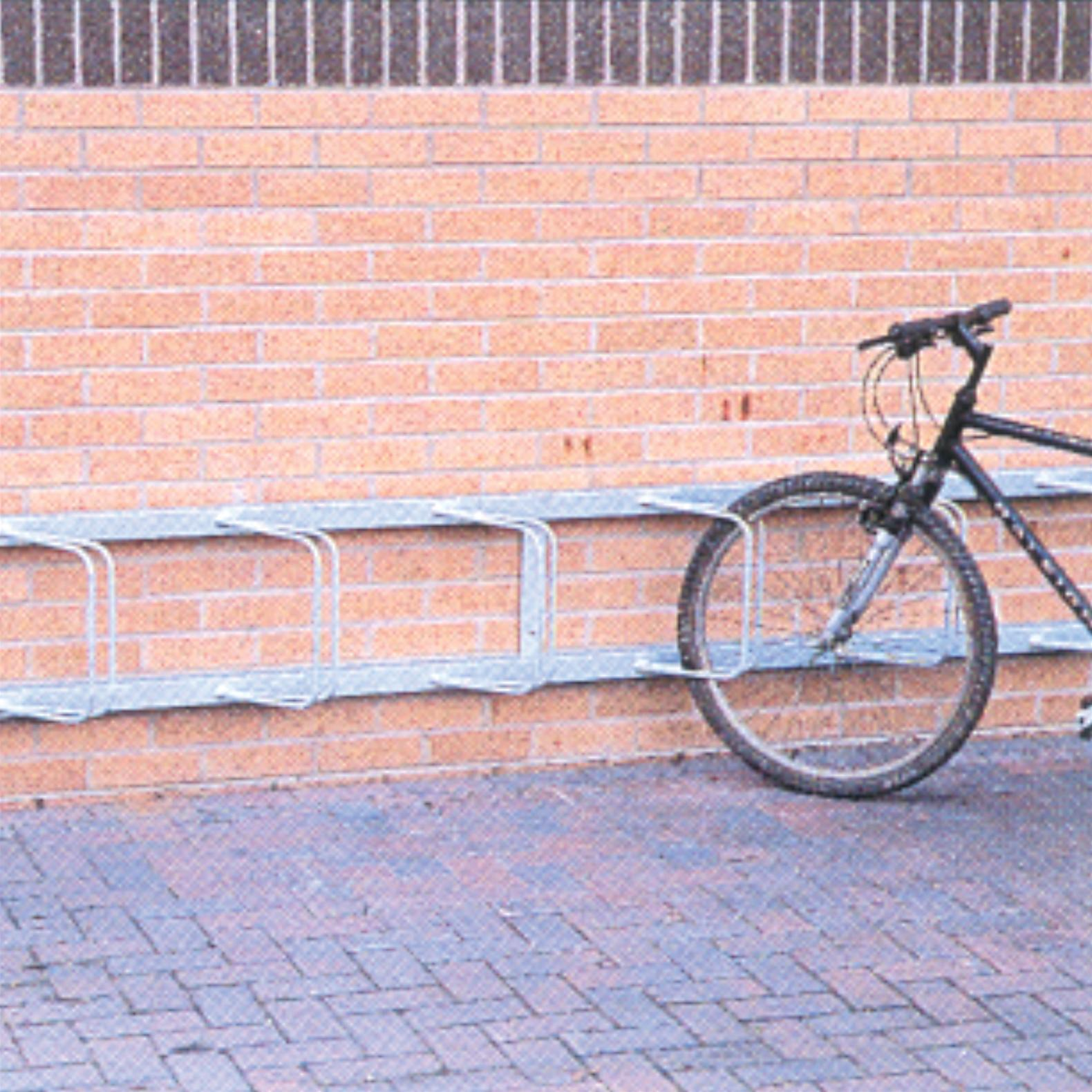 Angled Wall Mounted Cycle Rack
