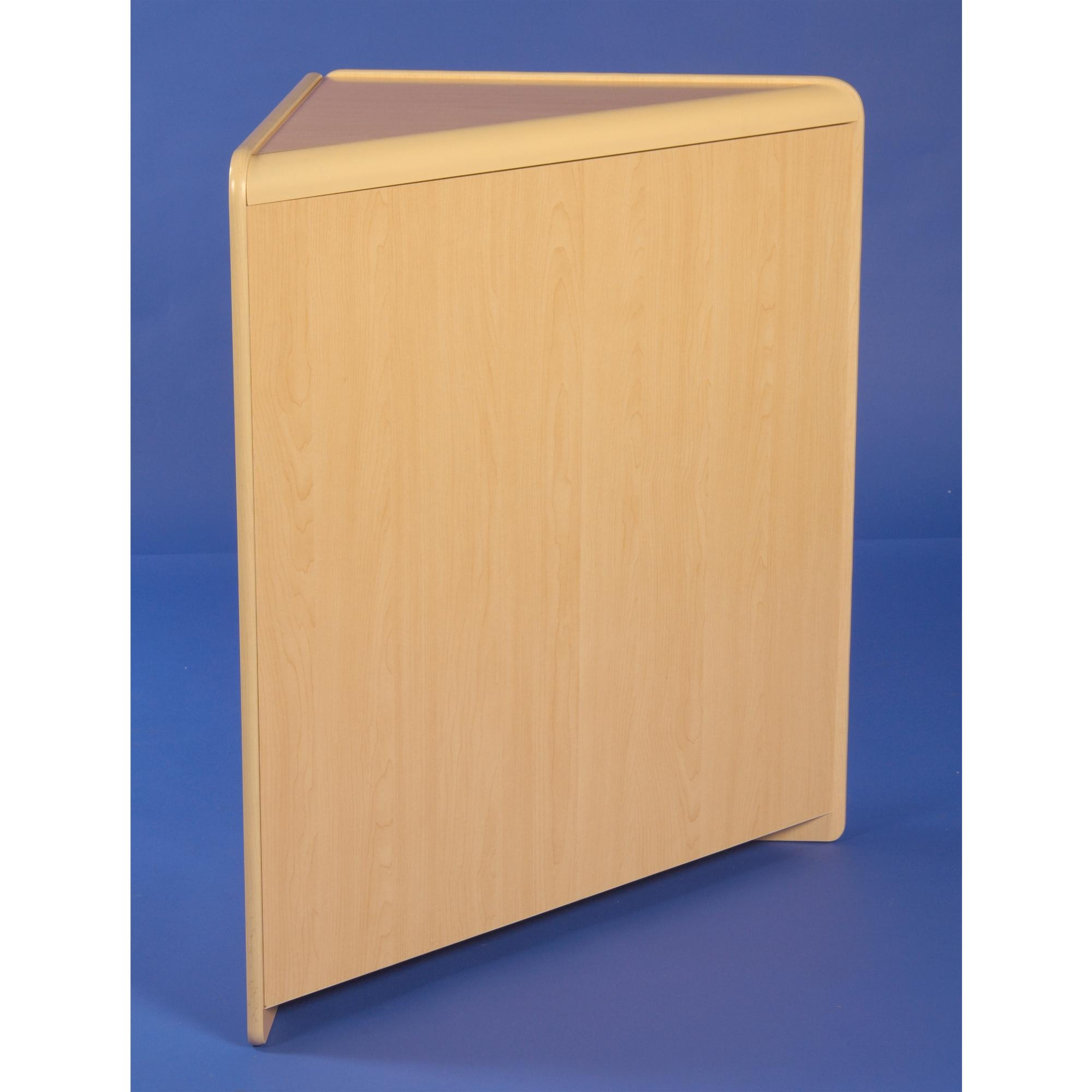 Flat Packed 90Degree Solid Corner Counter