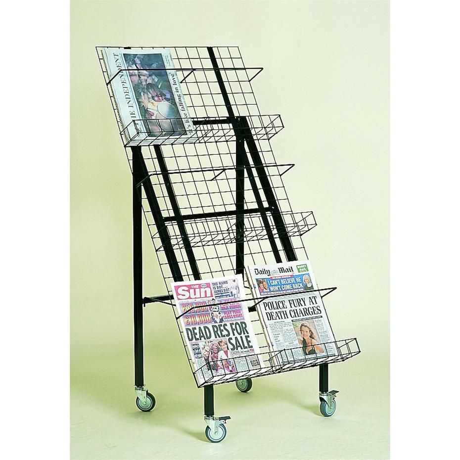Outdoor Newspaper Stand