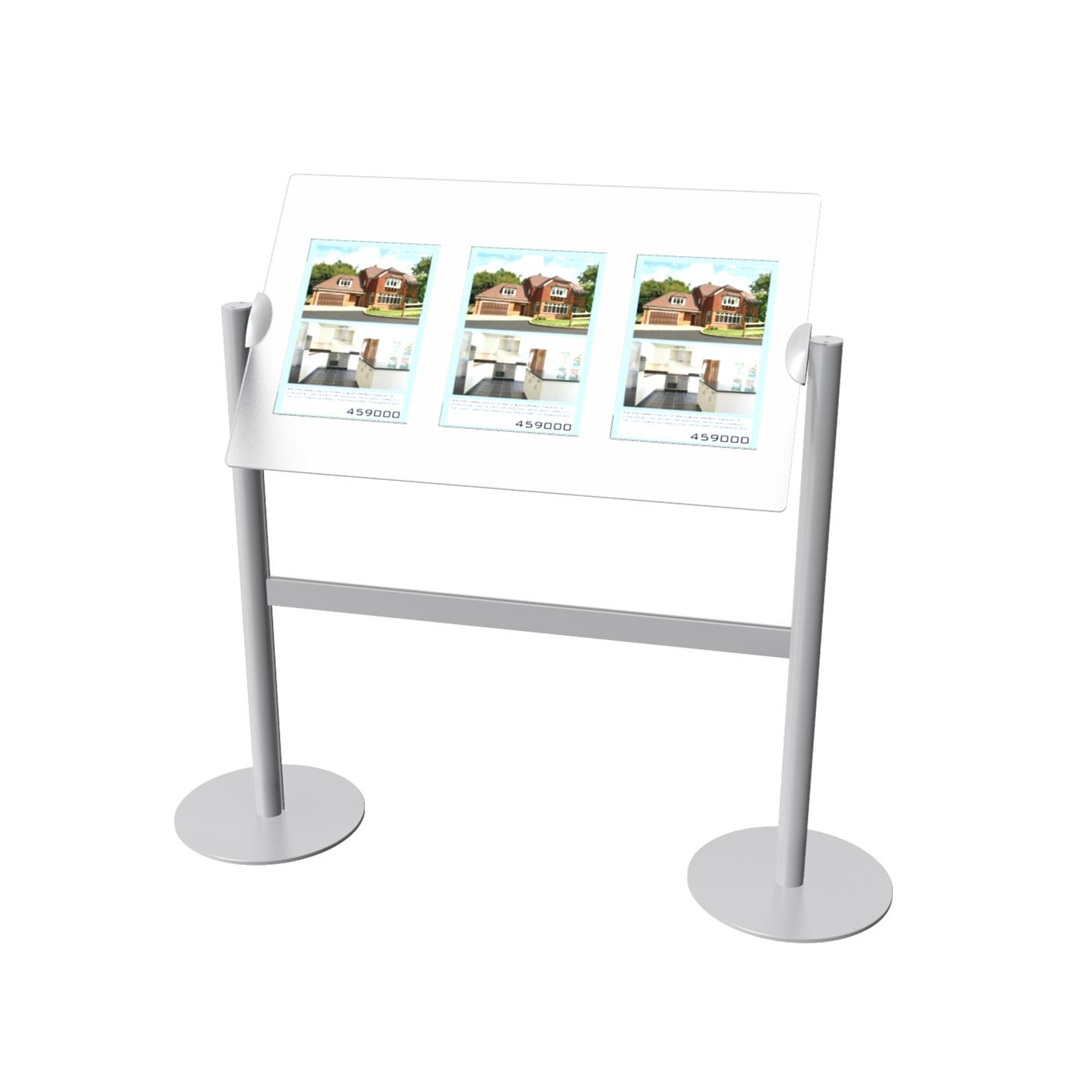 Sloping Display - 3 x 1