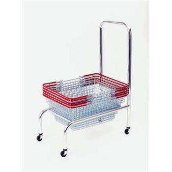 Wire Stacker With Handle & Castors