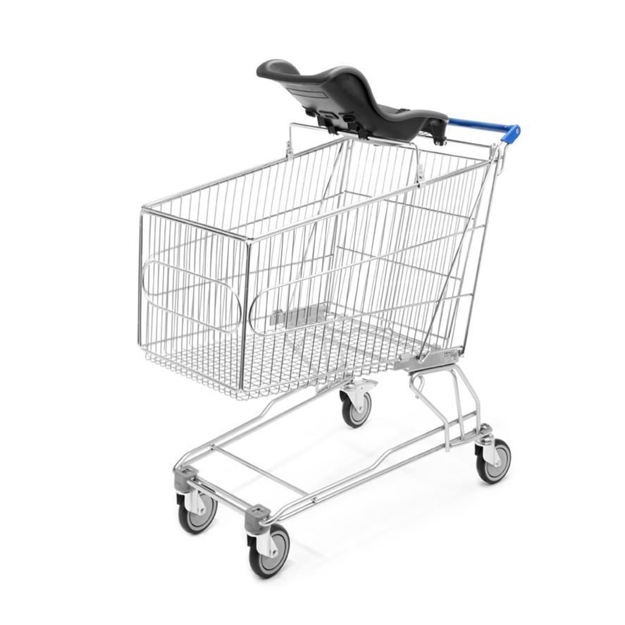 Shopping Trolley Plastic Moulded Baby Seat