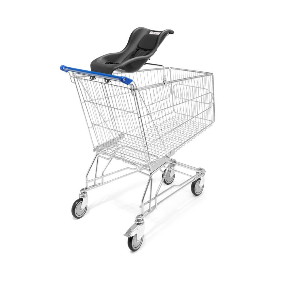 Shopping Trolley Plastic Moulded Baby Seat Gt Supermarket