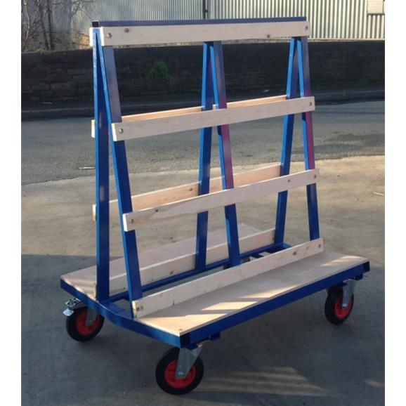 Glass Trolley 1200mm Long Gt Flatbed Transportation