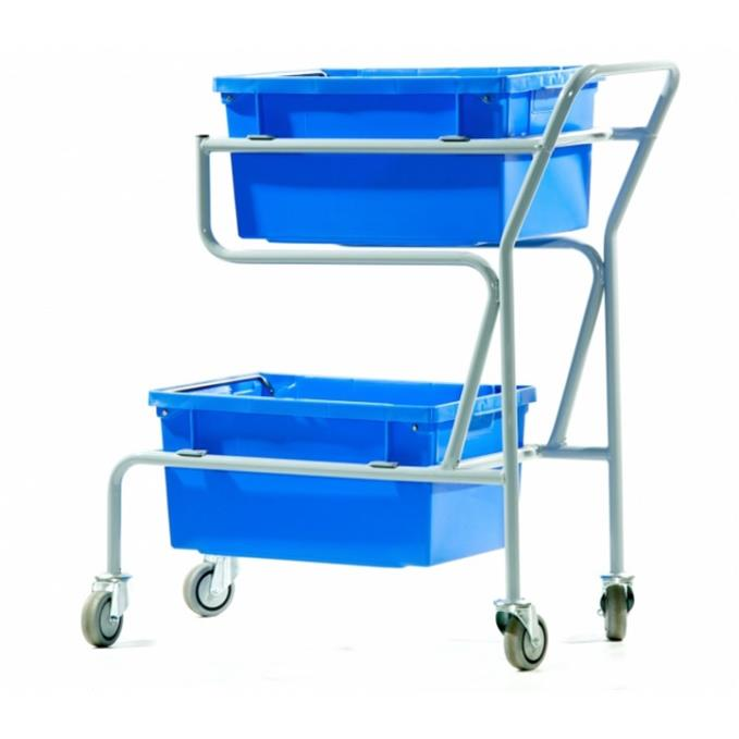 Twin Container Order Picking Trolley