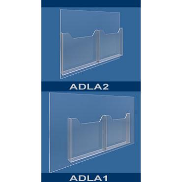 Double A4 Leaflet Dispensers - Portrait