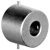 Single-sided cable to rod support for 6mm diameter rod