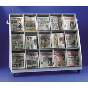 Outdoor Newspaper Stands - Slimline Outside News