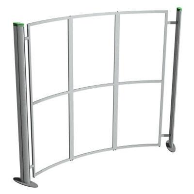 Metro Portable Curved Display Stand