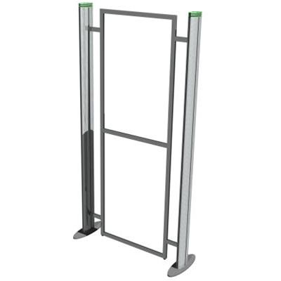 Metro Portable 1 Section Straight Display Stand