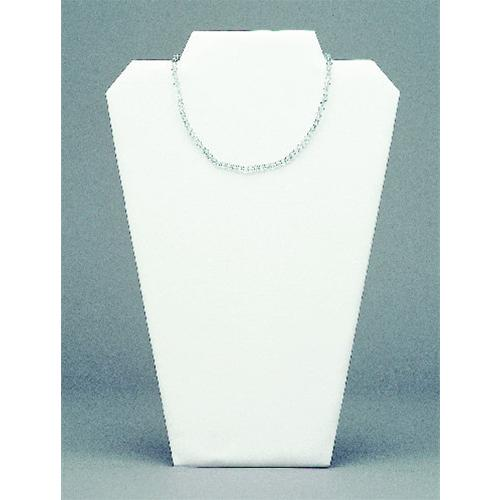 JEWELLERY BUST WHITE IMITIATION LEATHER FINISH
