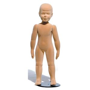 Childrens Natural Finish Mannequin - Age 2-3