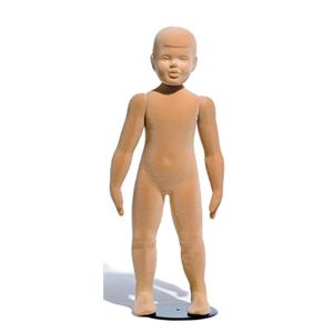 Childrens Natural Finish Mannequin - Age 3-4