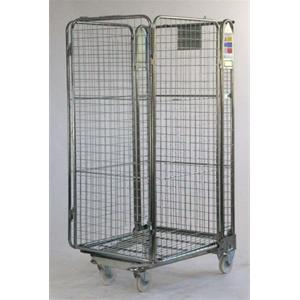 Stock Trolley 4 Sided - Nestable