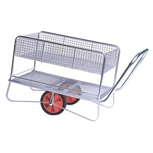 Two-Tier Garden Centre Zinc Trolley