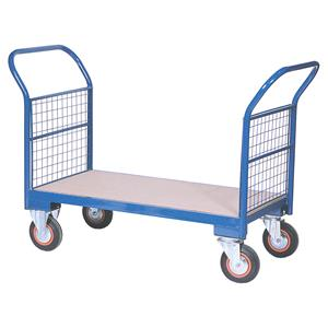 Warehouse Trolleys Twin-Handled With Wire Ends
