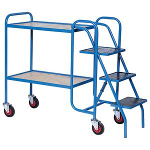 Order Picking Trolley With Steps