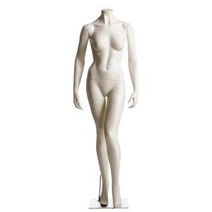 Female Headless Mannequin- Left Leg in Front