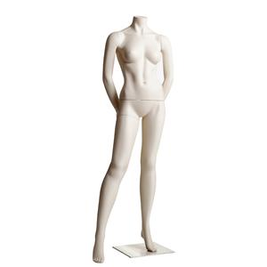 Female Headless Mannequin- Hands Behind back, Right Leg to Side