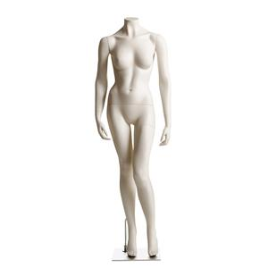 Female Headless Mannequin- Left Knee Bent