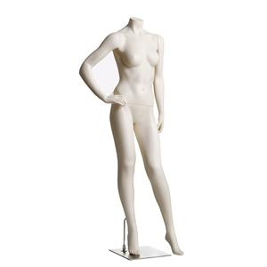 Female Headless Mannequin- Right Hand on Hip
