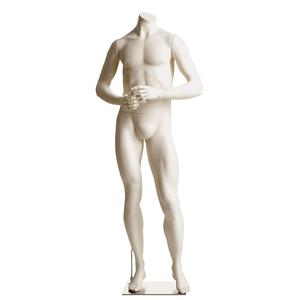 Male Headless Mannequin- Athletic,  Hands in Front
