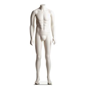 Male Headless Mannequin- Arms at Side