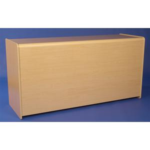 Flat Packed Solid Counter