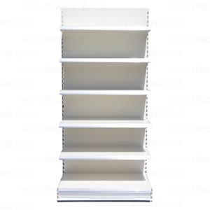 Eden Shelving Shop Shelving Supermarket Shelving Wall Shelves  2110mm High x 1250mm Wide