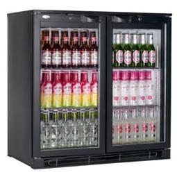 Double Door Back Bar Cooler