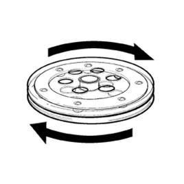 PLASTIC TURNTABLE (LAZY SUSAN)