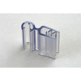 HINGED SIGN HOLDER FOR WIRE