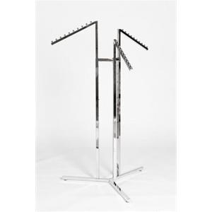 Three Waterfall Arm Garment Rail