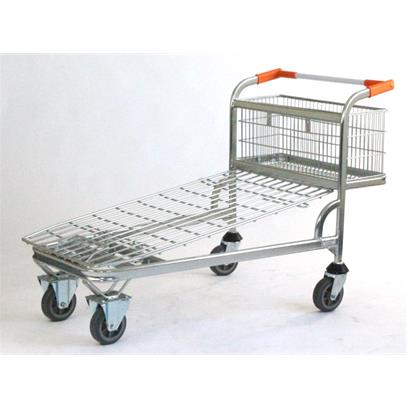 Cash & Carry Trolley - Wire Base