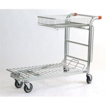 Shop Trolley - Folding Basket
