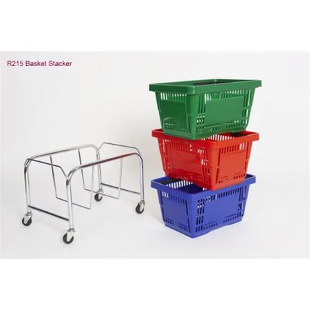 Plastic Shopping Baskets 28 Litre - 25-Pack Only