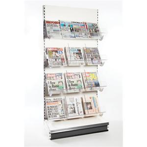Supermarket Shelving & Shop Shelving - Newspaper Shelving Bay