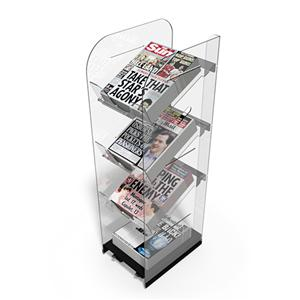 Newspaper Stands Mobile Single Newstower