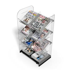Newspaper Stands Mobile Double Newstower