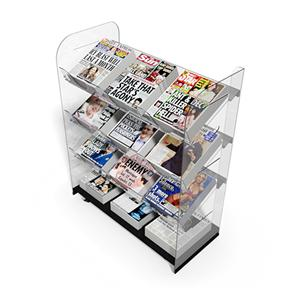 Newspaper Stands Mobile Triple Newstower