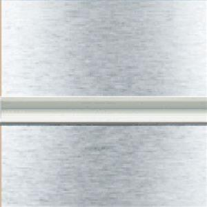 Brushed Aluminium Slatwall  Board