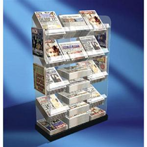 Newspaper Stands - Gondola End News