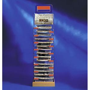 Freestanding - Multi Title Tower 17 Shelves
