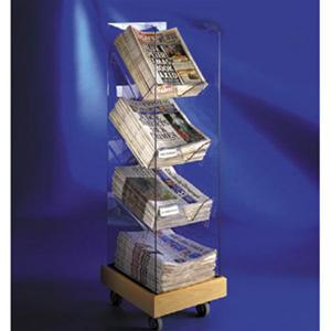 Newspaper Racks - Single Tower