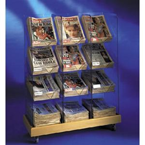 Newspaper Racks - Triple Tower
